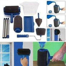 5/8PCS Paint Runner Pro Brush Set Multifunctional Paint Roller Brush kit Wall