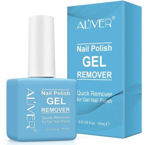 SUPER FAST Remove UV Gel Nail Polish Magic Nail Polish Remover, Non-Irritating, UV Nail Gel Polish, Acrylic, Sculptured Nails for Manicure & Pedicure