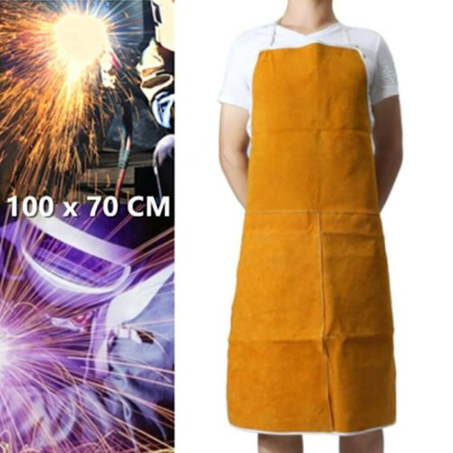 Welder Welding Protection Leather Apron Blacksmith Safety Clothes