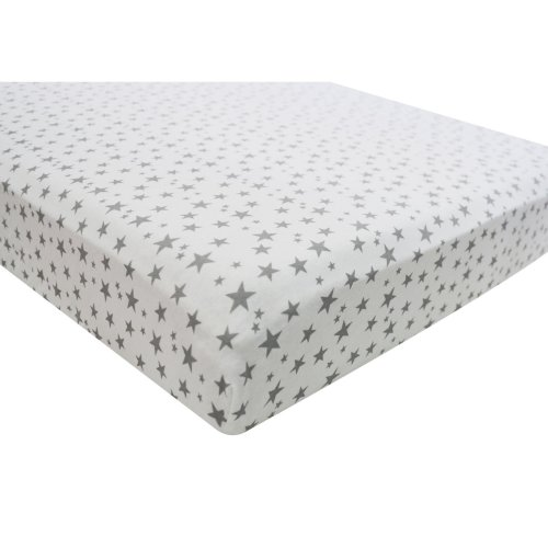 White 2 x Jersey Fitted Sheet 100/% Cotton Suits Junior Cot Bed 160x70 cm