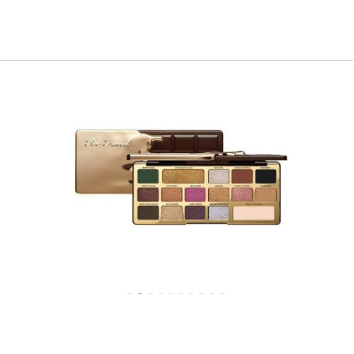TOO FACED Chocolate Gold Eye Shadow Palette( 2 x 2g, 14 x 0.85g )