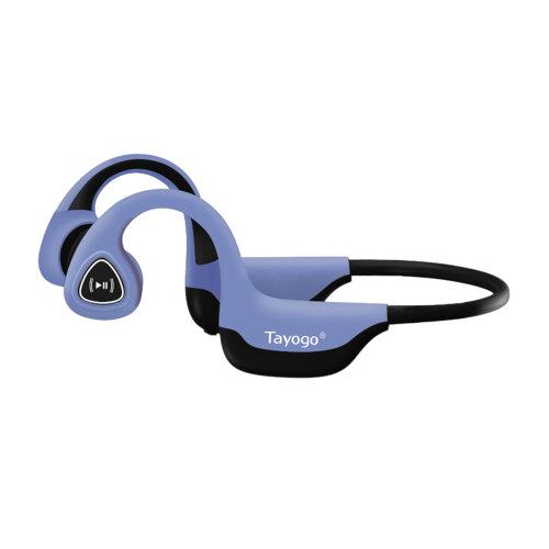 Bone Conduction Headphones Bluetooth Open-Ear Wireless Sports Headsets