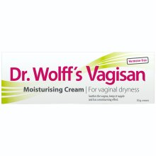 Vagisan Moist Cream with Applicator, Relieves Vaginal Dryness, Hormone Free, 50g
