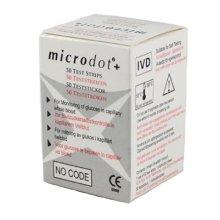 Microdot Blood Glucose Test Strips 50 Strips