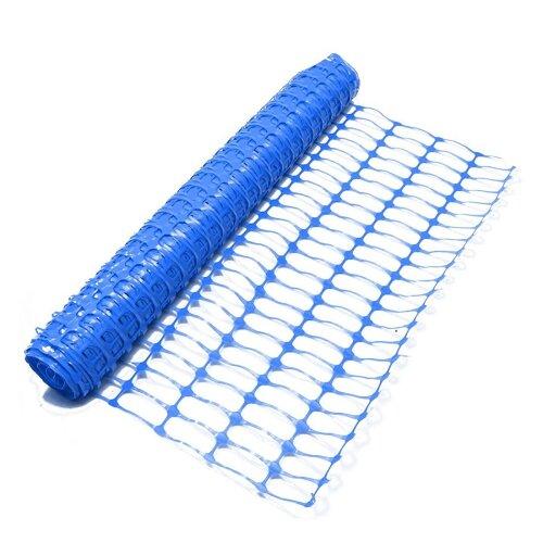 Oypla Heavy Duty Blue Safety Barrier Mesh Fencing 1mtr x 25mtr