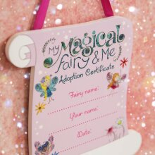 The Magical Fairy Adoption Certificate Hanging Plaque