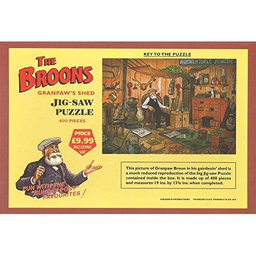 The Broons' Jigsaw Puzzle - Granpaw's Shed (Jigsaw)