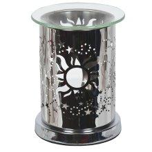 Aroma Mirror Wax Melt Burner, Sun and Moon