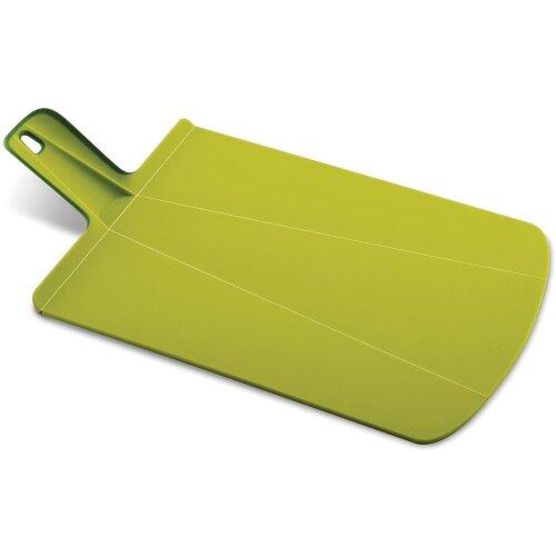 Joseph Joseph Chop2Pot Plus Folding Chopping Board Small Green Non-Slip Feet