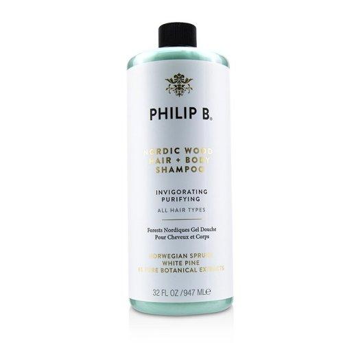 Nordic Wood Hair + Body Shampoo (invigorating Purifying - All Hair Types) - 947ml/32oz