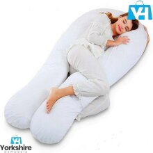 12ft U Shape Microfiber Pillow Total Body Comfort Ideal Pregnancy Maternity 2021