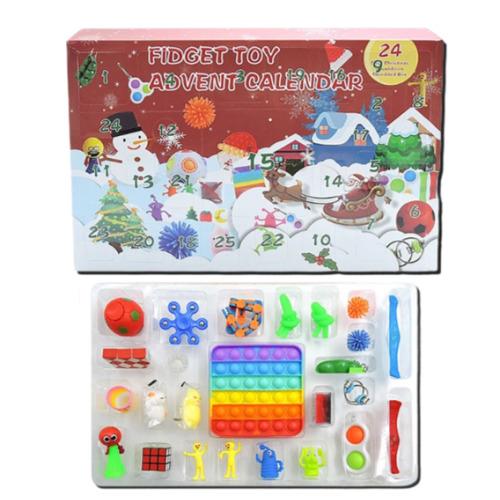 Christmas Countdown Fidget Toy Advent Calendar