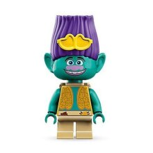 LEGO Trolls World Tour Branch Minifigure from 41253 (Bagged)