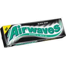 (30 Pack of ) Airwaves Black Mint 10pce - 10pc
