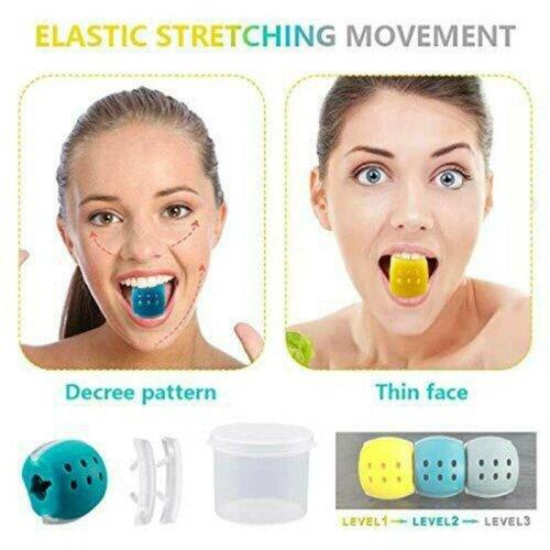Face Exerciser Exercise Facial Toner Fitness Ball Chin Neck Toner Jawzrsize Jaw