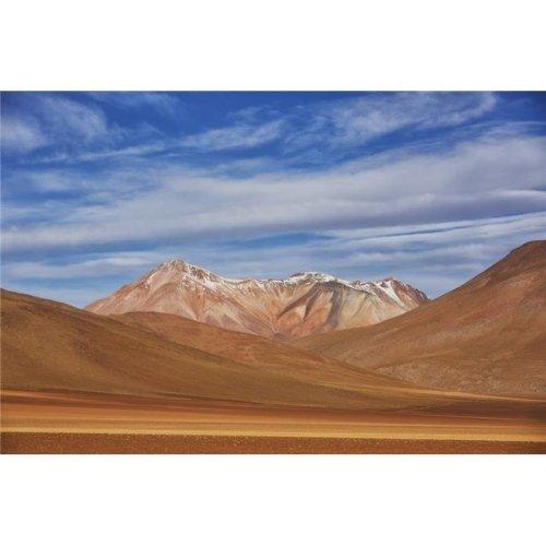 The Surreal Landscape of Bolivias Altiplano Region Near Uyuni - Bolivia Poster Print - 19 x 12 in.