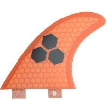 Surfboard Surfing Fin FCS AM-2 Hexcore Surfboard fins 3 PCS SET ORANGE
