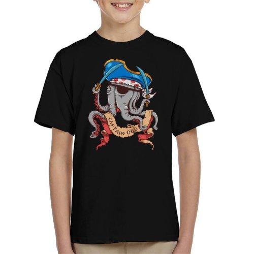 Captain Octopus Kid's T-Shirt