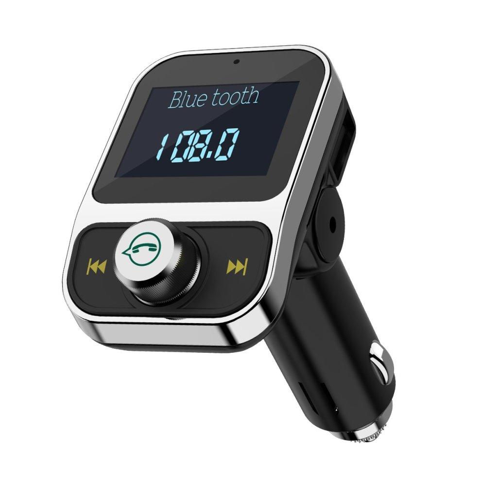 Bluetooth Car Kit FM USB Charger Transmitter Wireless Radio Adapter Mp3 Player
