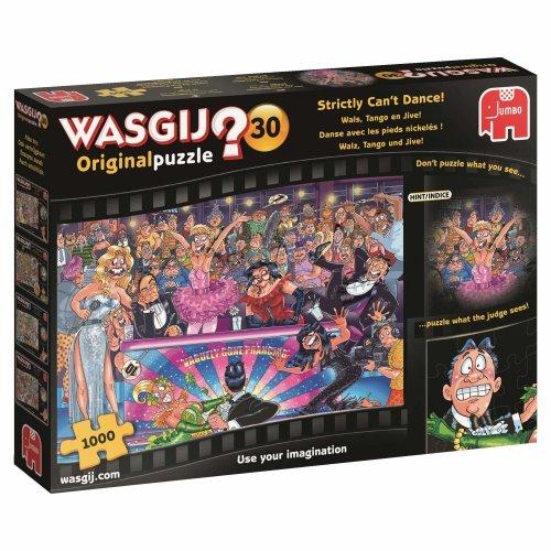 Jumbo 19160 Wasgij Original 30-Strictly Can't Dance 1000 Piece Jigsaw Puzzle, Multi