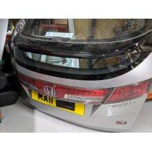 Honda Civic Mk8 Si I-vtec 5dr Hatch 2011 1339cc Complete Bootlid - Used