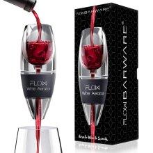 FLOW Wine Aerator, Hand Held Red Wine Enhancer