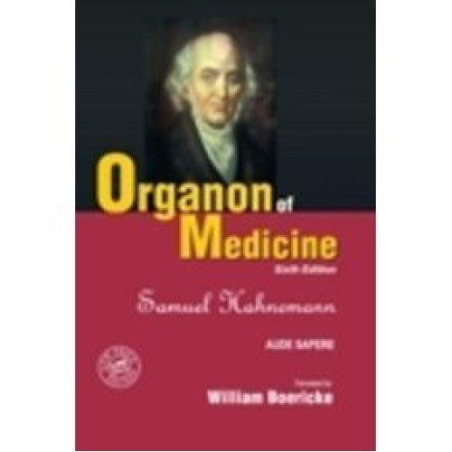 Organon Of Medicine with Word Index - 6th Ed. (S.E.) [Hardcover]
