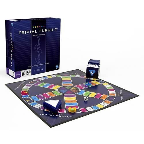 Trivial Pursuit Master Edition Game (New)