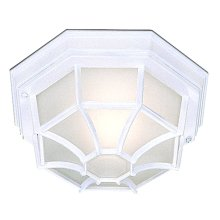 Classic Outdoor Aluminium Porch Light With Frosted Glass
