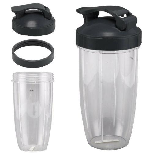 Nutribullet Replacement 32OZ Large Cup+FlipTop Lid For Nurtibullet Pro 600/900W