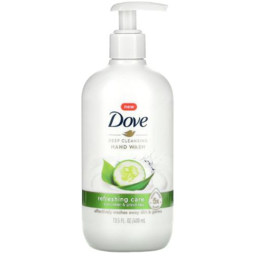 Dove, Deep Cleansing Hand Wash, Cucumber & Green Tea, 400ml