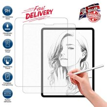 (2 Pack) Ultra Clear 9H Anti Shatter Anti Fingerprint Scratch Resistant HD Tempered Glass Screen Protector for Apple iPad Air 4 (4th Generation 2020)