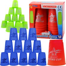 The Magic Toy Shop Set of 12 Speed Stacking Cups