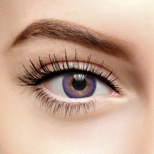 Freshlook Colorblends Amethyst Coloured Contact Lenses (30 Day)