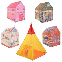 idooka Kids Children's 5 Designs Play Tent Pop Up - Easy & Quick Assembly for Imaginative Role Play Indoor Usage Gift - Suitable from Age 2+