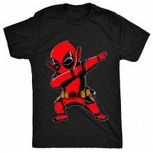8TN dabbing dead Fan Ninja Pool Shades Parody Mens T Shirt