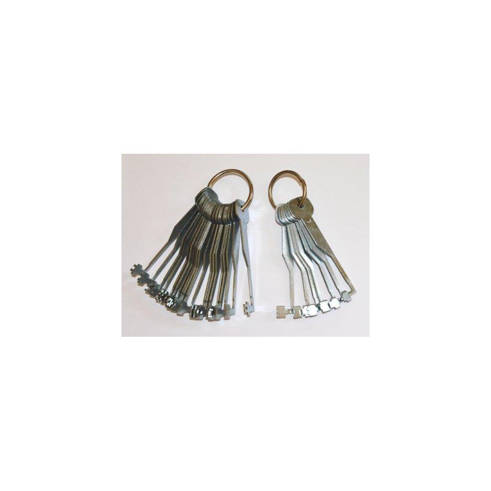 3 Lever Lock Try Out Keys 19 Piece Set To Open Lever Locks Yale Legge Union