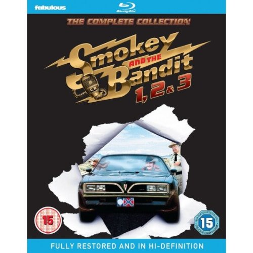 Smokey And The Bandit 1 to 3 Movie Collection Blu-Ray [2016]