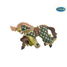 Papo Weapon Master Dragon Horse Figurine - Figure 39923 New -  papo horse weapon master dragon figure 39923 new