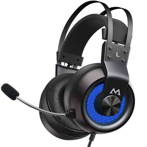Mpow EG3 Pro Gaming Headphones For iPad PS4 PC Laptop Tablet Phones 3.5mm Jax & USB Cable