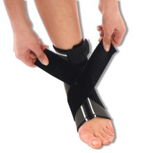 Neoprene Ankle Support Brace with Figure of 8 Wrap