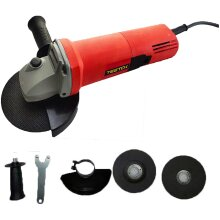 850W Electric Angle Grinder 125mm Cutting Grinding Sander Corded +Disc