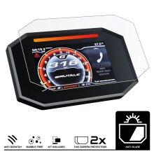 Speedo Angels Dashboard Screen Protector for MV AGUSTA SUPER VELOCE 800 / SERIE ORO (2020-) - 2 x Anti Glare
