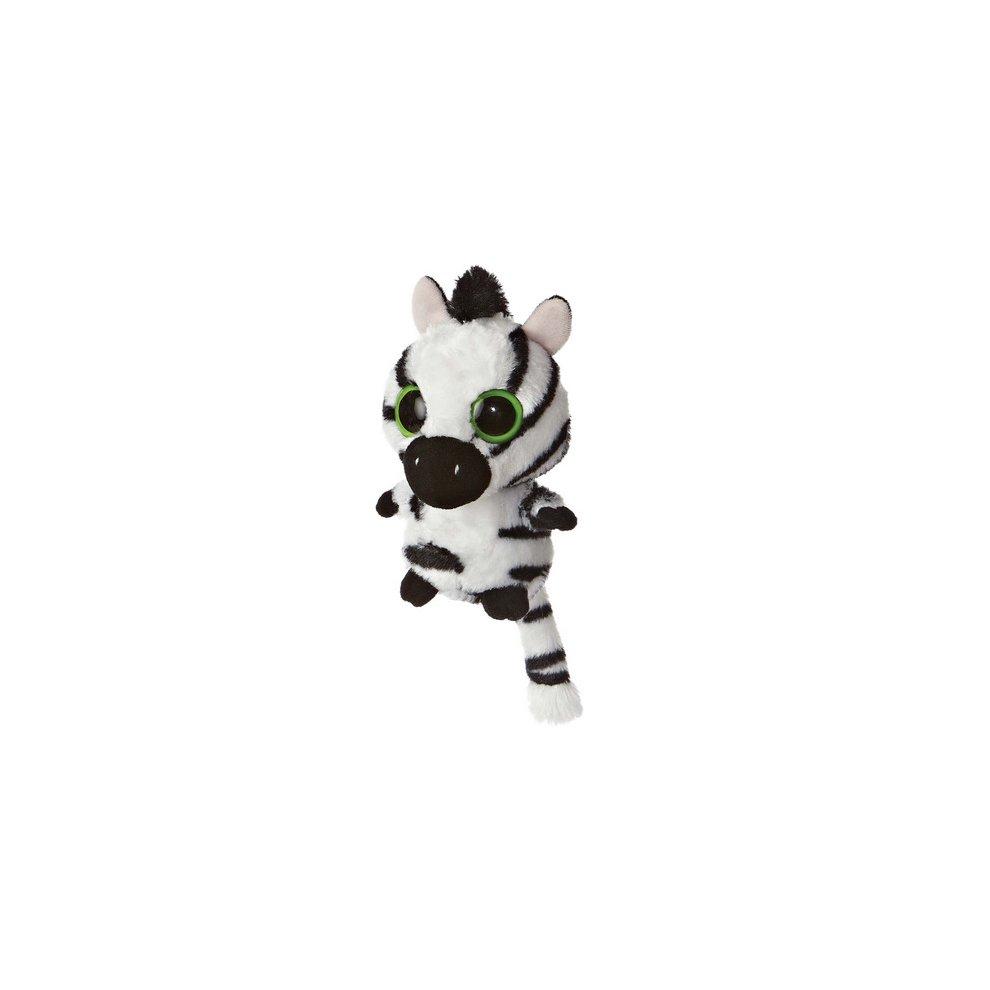 5 Inch YooHoo /& Friends Blue Stripee Zebra Stuffed Animal with Sound by Aurora