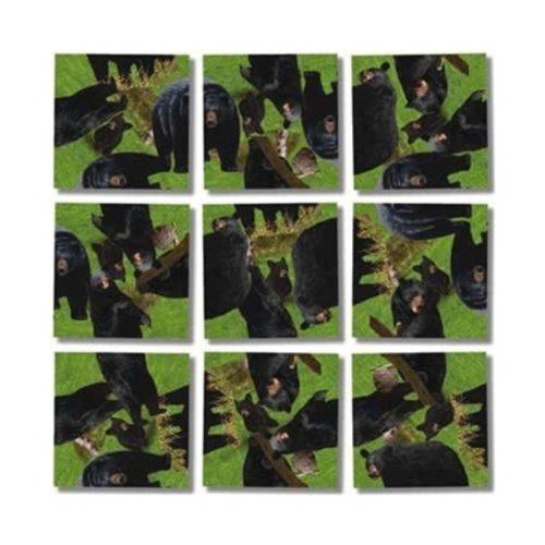 Scramble Squares Puzzle Black Bears