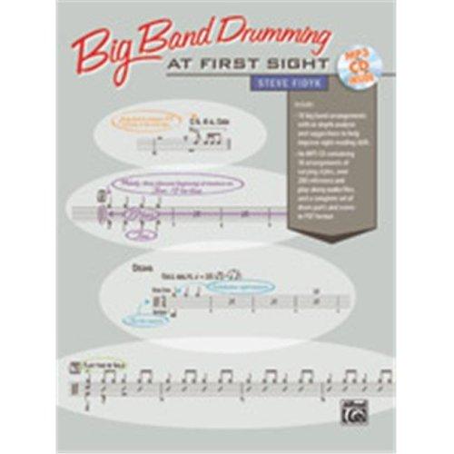 Alfred 00-37262 BIG BAND DRUMMING 1ST SIGHT-BK&CD