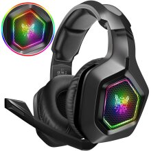 PC Gaming headset for PS4 Xbox Surround Stereo 3.5mm Gaming Headphones with Mic RGB Gamer Headset