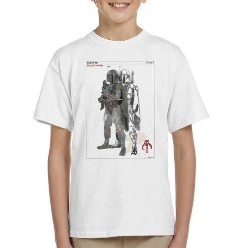 Star Wars Boba Fett Bounty Hunter Slave I Kid's T-Shirt