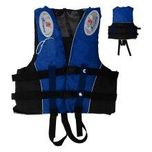 L Size Watersport Life Jacket Aid Vest (Blue)