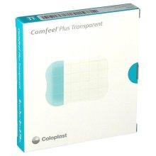 Comfeel Plus Transparent Hydrocolloid Dressings 5cm x 7cm (x10)